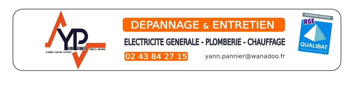 Yann PANNIER / Electricité – Plomberie – Chauffage